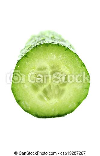 frais, concombre - csp13287267