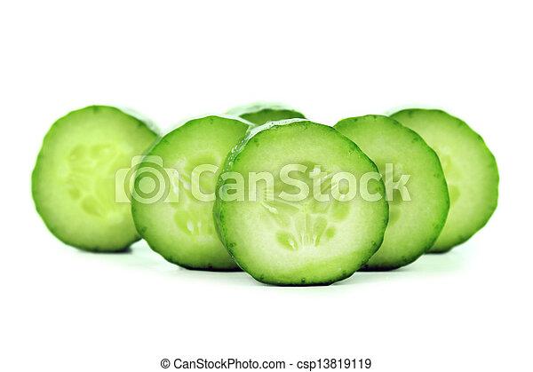 frais, concombre - csp13819119