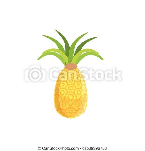 Frais Tellow Ananas