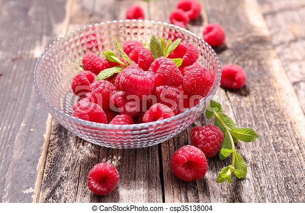 framboesa, fruta - csp35138004