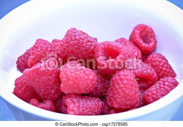 framboesa, fruta - csp17278585