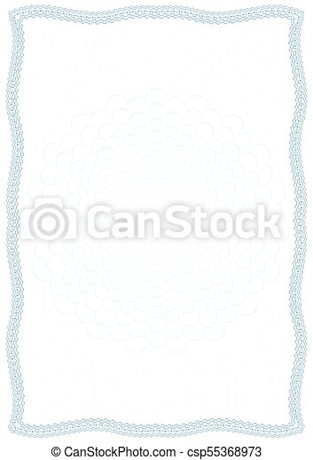 Frame and border of bubbles in water with protective elements. Vector - csp55368973
