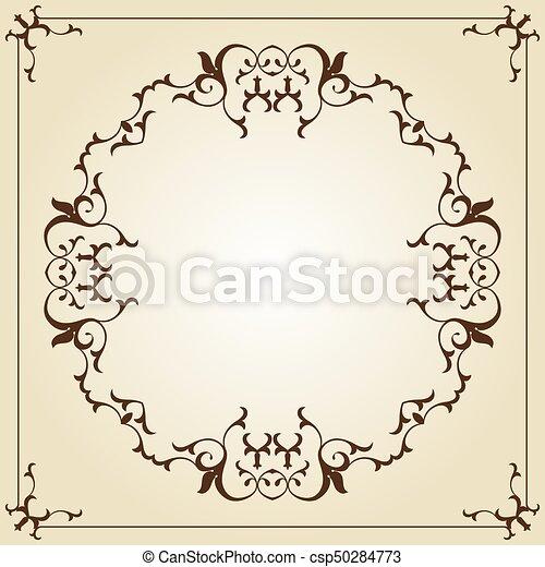 frame border. Simple Border Frame Border Design  Csp50284773 Throughout T