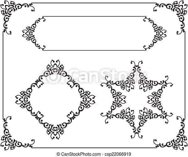 border design illustrations and stock art 663 869 border design