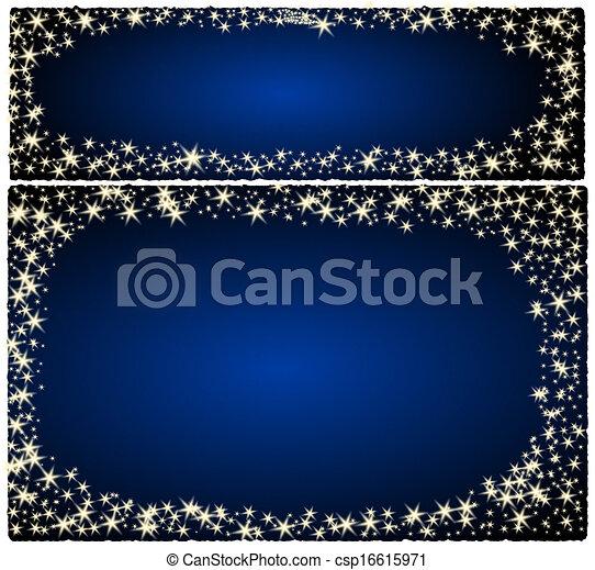 Frame christmas card - csp16615971