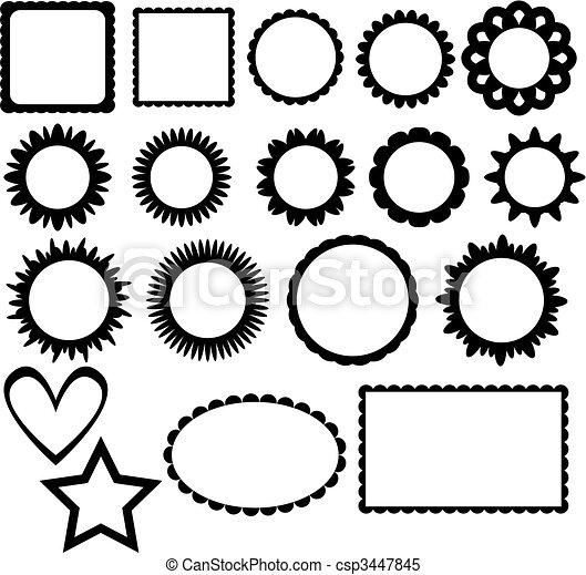 Frame collection - csp3447845