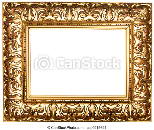 Frame for painting. Frame for painting, on a white background.