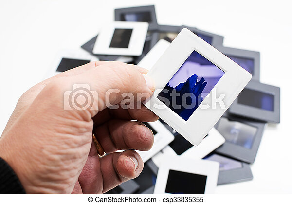 Frame in the hand - csp33835355