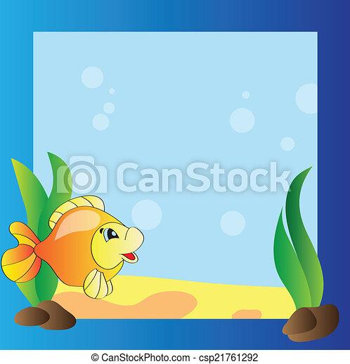 Frame - marine life - csp21761292