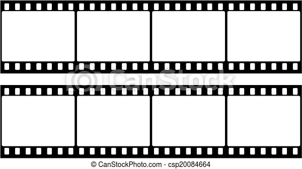 Frame of photographic film (seamles - csp20084664
