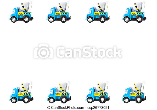 Frame of Toy cars - csp26773081