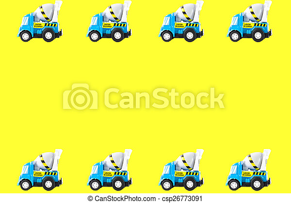 Frame of Toy cars - csp26773091