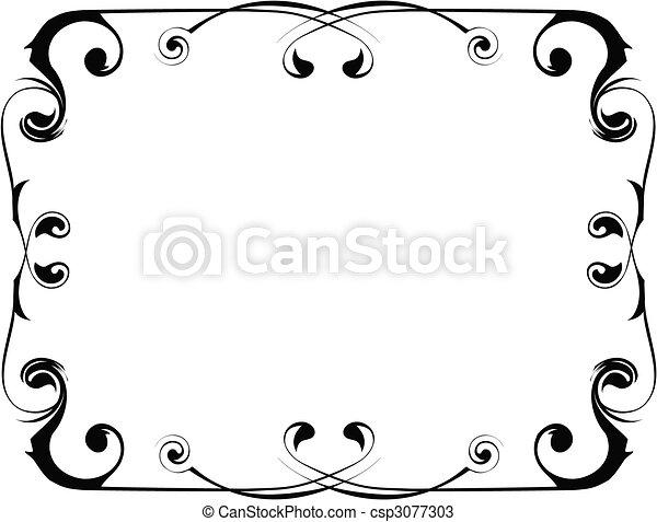 frame, vector - csp3077303
