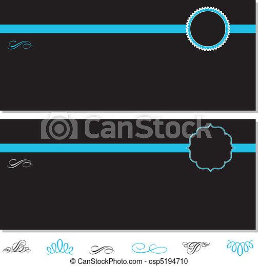 frame, vector, set, sierlijk - csp5194710