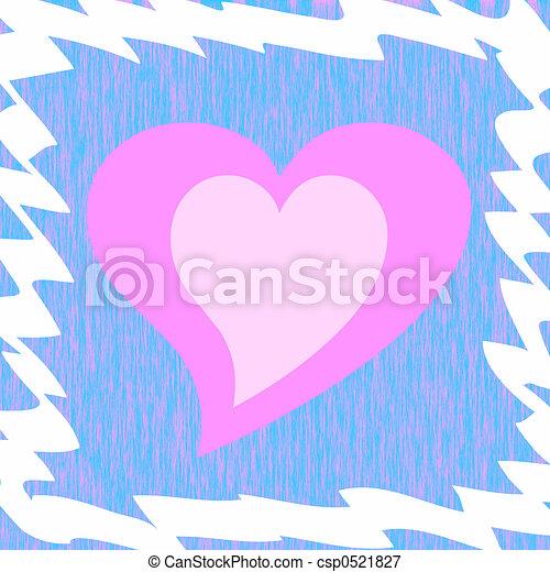 Framed heart. Framed pink heart stock illustrations - Search EPS ...