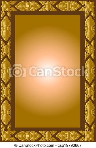 frames art thai - csp19790667