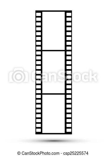 Frames of photographic film - csp25225574