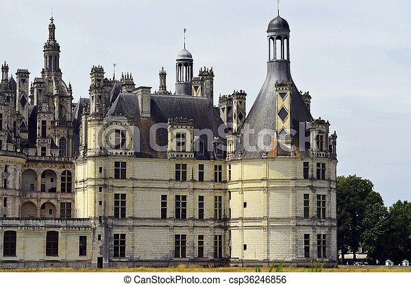 France, Chambord - csp36246856