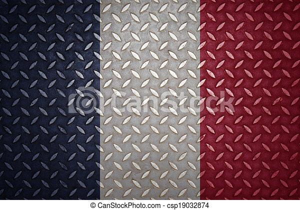 france Flag Seamless steel diamond plate - csp19032874