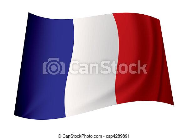 france flag - csp4289891