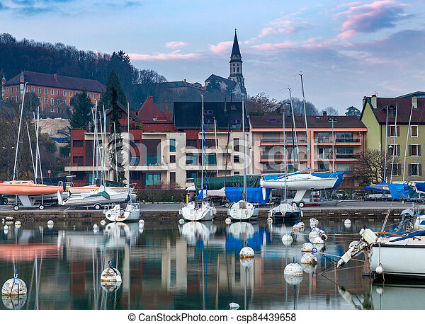 France. Lake Annecy. - csp84439658