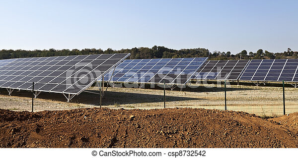 France photovoltaic power station - csp8732542