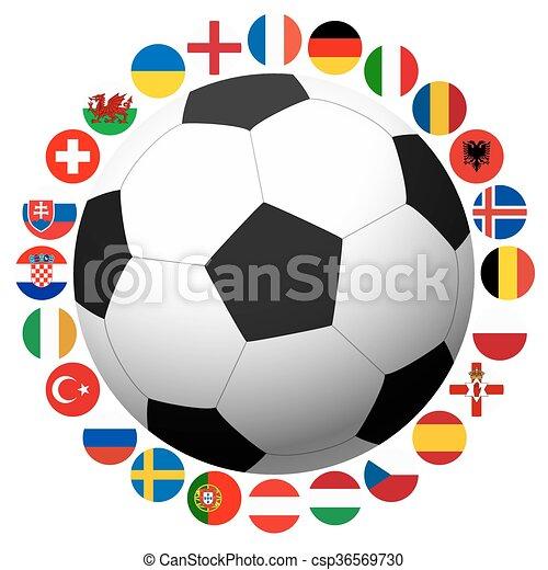 France soccer game national teams - csp36569730