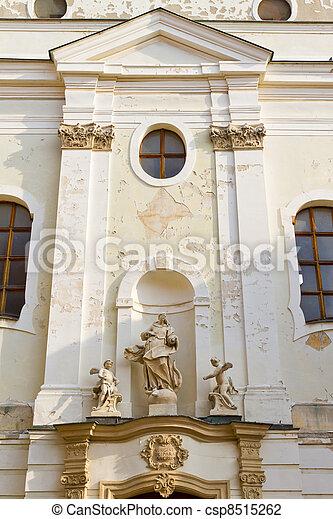 franciscan, 教会, スロバキア, bratislava - csp8515262