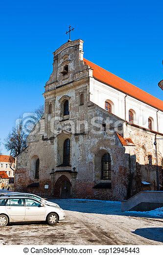 Franciscan Church in Vilnius - csp12945443