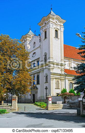 franciscan, st. 。, ヨセフ, 教会 - csp67133495