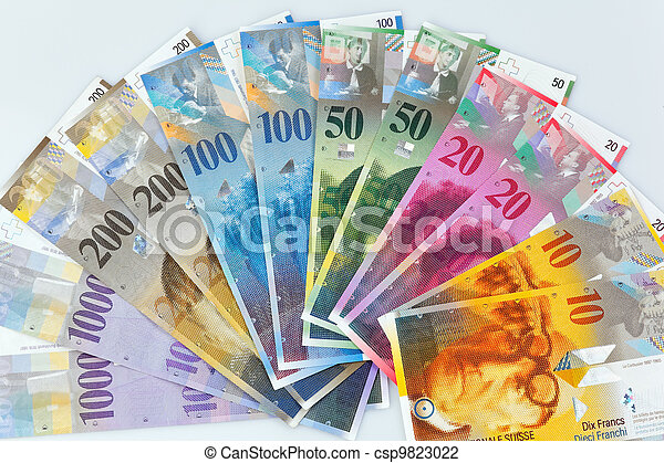 franco svizzero - csp9823022