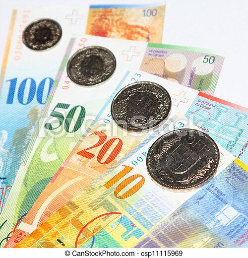 franco svizzero - csp11115969