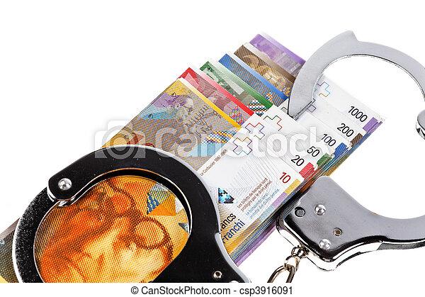 franco svizzero - csp3916091
