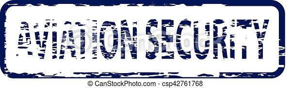 francobollo, aviazione, sicurezza - csp42761768