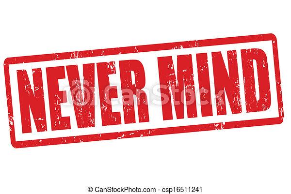 francobollo, mai, mente - csp16511241