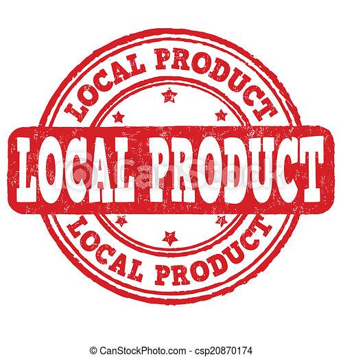 francobollo, prodotto, locale - csp20870174