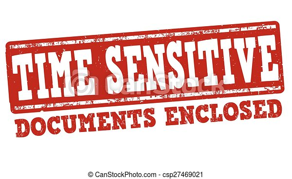 francobollo, sensibile, tempo - csp27469021
