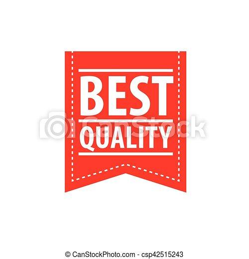 francobollo, vettore, qualità - csp42515243