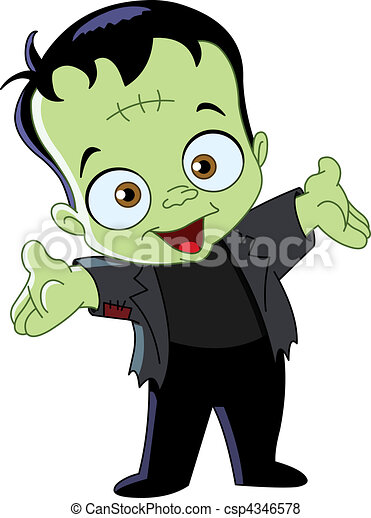 Frankenstein kid - csp4346578