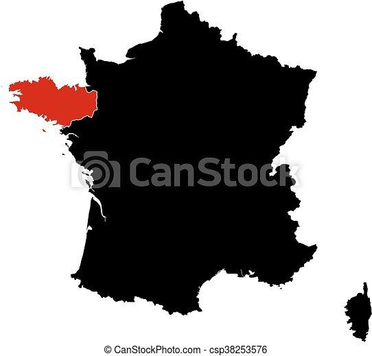 bretagne frankrike karta Frankrike, karta,  , bretagne. Karta, bretagne, frankrike  bretagne frankrike karta
