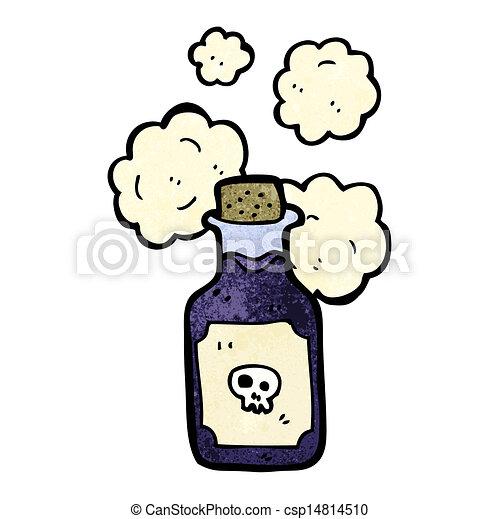 Una ampolla de veneno - csp14814510