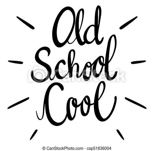 frase, school, koel, oud, engelse  - csp51636004