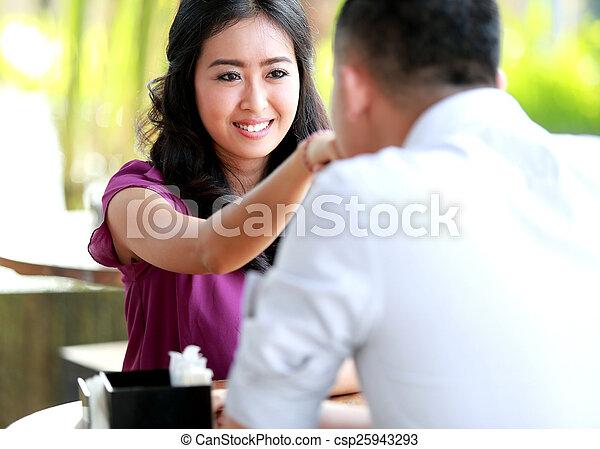 Asiatische Freundin datiert