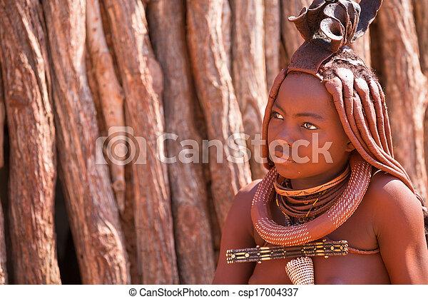 Himba-Frau - csp17004337