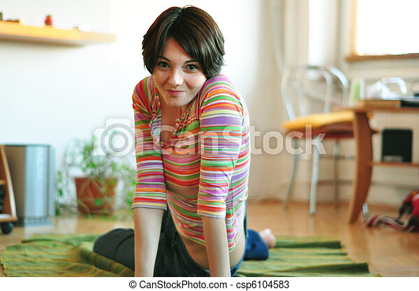 Junge Frau - csp6104583