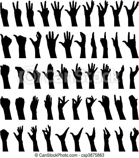 Weibliche Hände - csp3875863