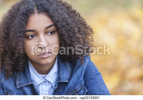 Teenager afrikanisch