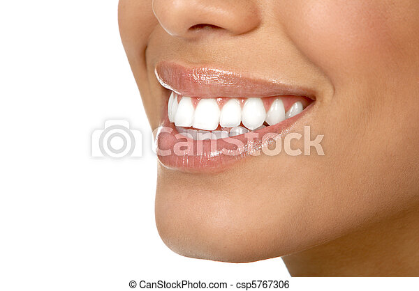 Frauenzähne - csp5767306