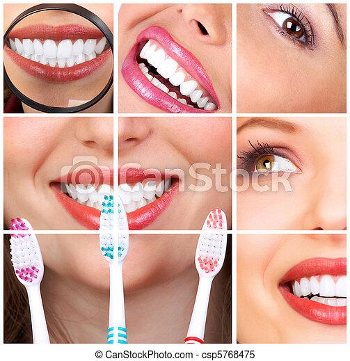 Frauenzähne - csp5768475