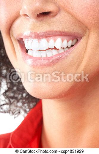 Frauenzähne - csp4831929